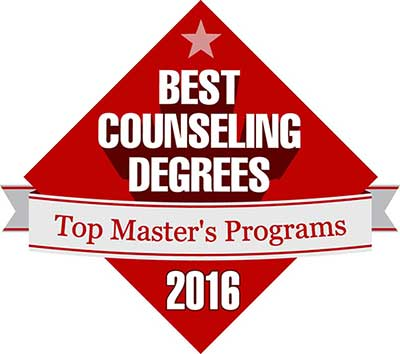 Badge for Best Counseling Degrees 2016
