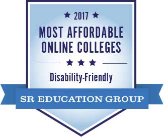 Badge Most Affordable Disability Friendly 2017