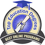Badge Top Education Degrees 2017